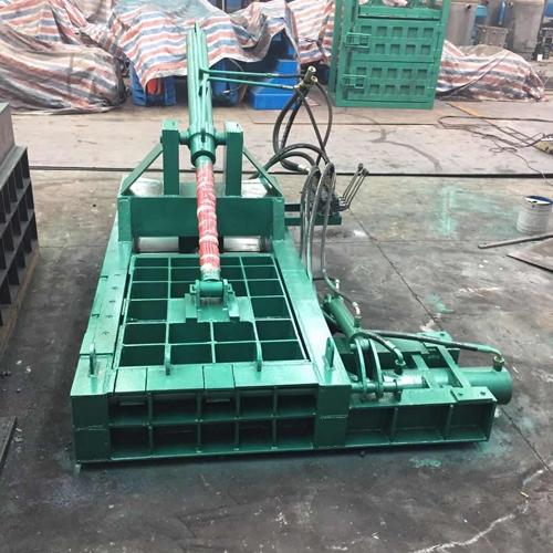 铁皮金属压块机